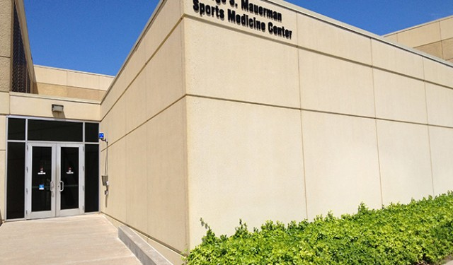 EMG Installs Letters Honoring Legend at The University of Tulsa
